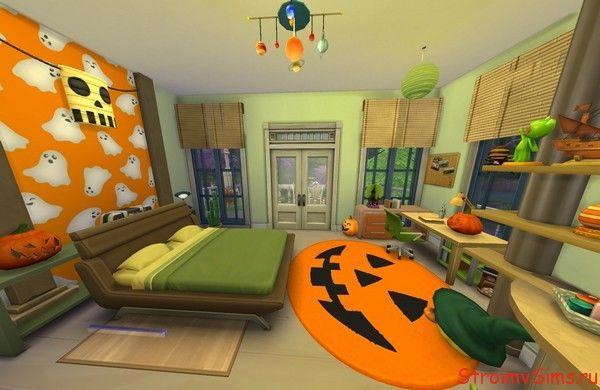 Комната девочки в The Sims 4