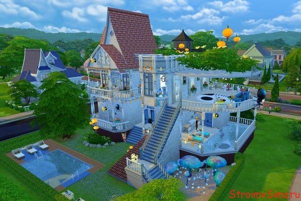 Дом для проведения жуткой вечеринки