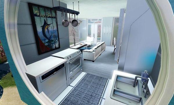 Как оформить кухню для The Sims 3