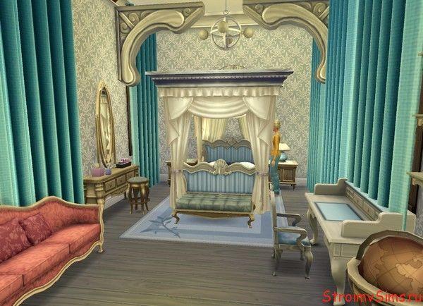 The Sims 4 отельный номер.