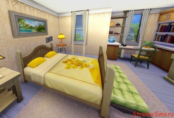 The Sims 4 комната родителей