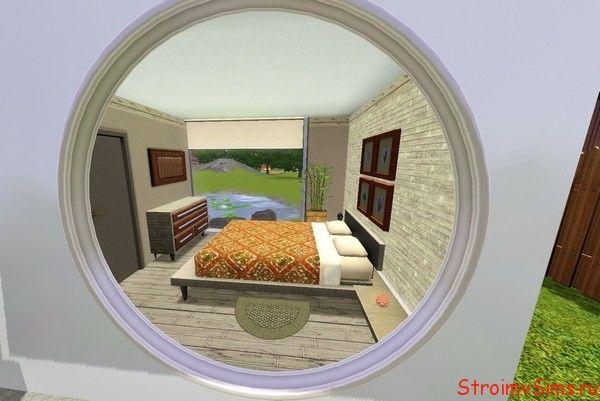 Как построить спальню в Симс 3