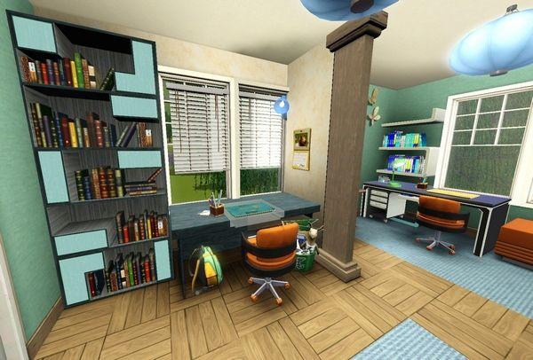 Симс 3 комната подростка