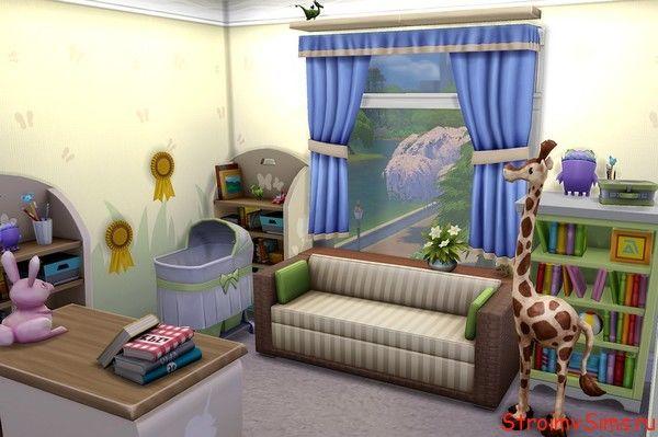 Спальня ребёнка в The Sims 4