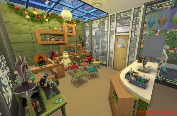 Симс 4 детский отдел в магазине