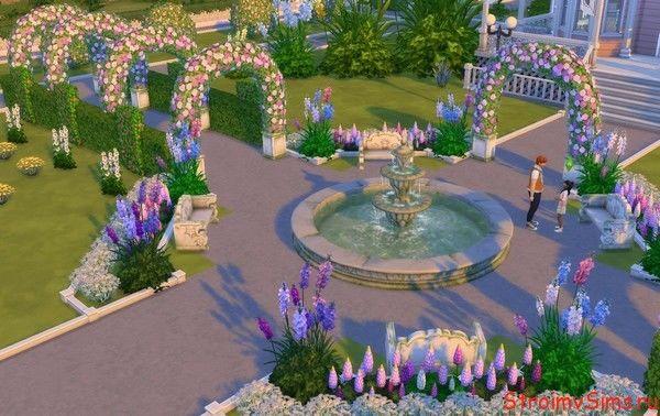 Что можно поставить около дома в The Sims 4