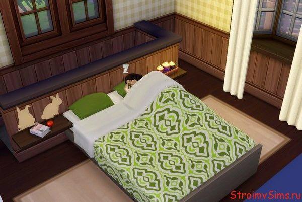 Как сделать спальню в Симс 4