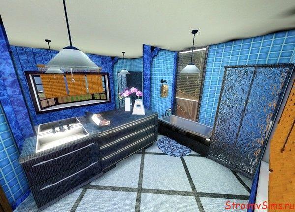 Как сделать красивую ванную комнату базовой игрой