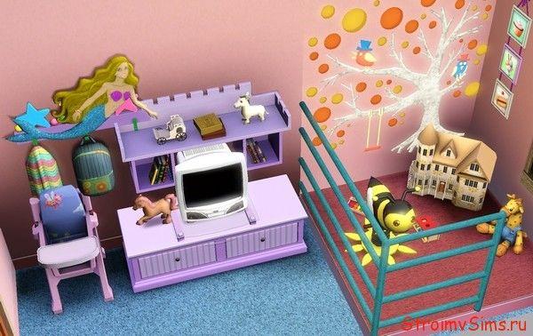 Спальня малышки