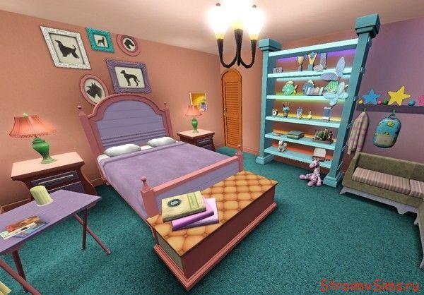Комната девочки в The Sims 3