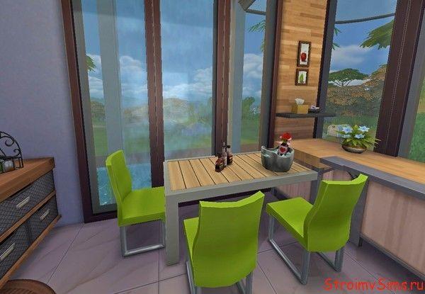 Современная кухня The Sims 4