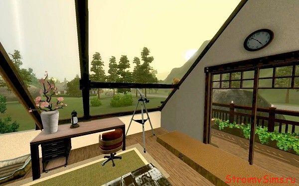 Самодельная крыша с кодом на изменение ландшафта