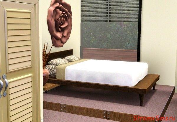 The Sims 3 спальня Розали и Эммета Каллена