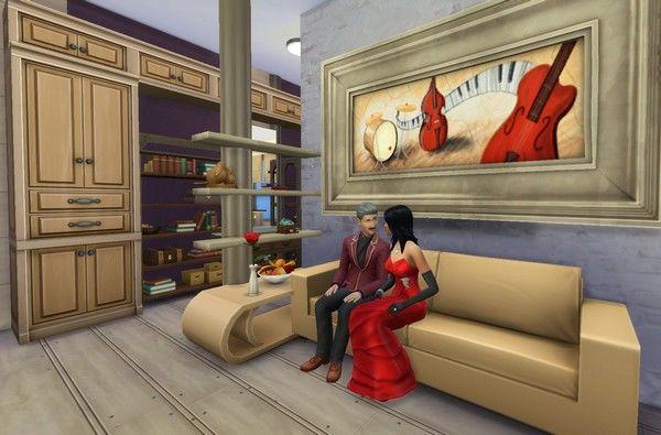 Строим самодельный стеллаж в The Sims 4