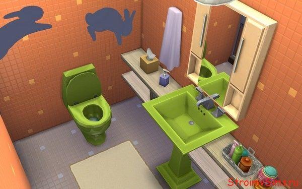Дом Кроша: ванная