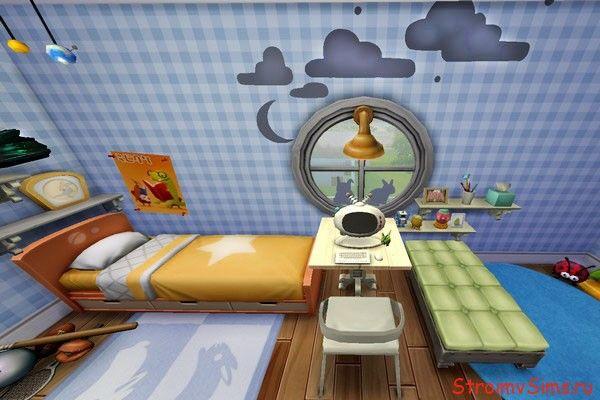 Маленькая спальняThe Sims 4