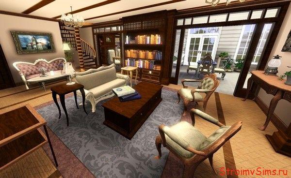 Симс 3 красивый дом из Зачарованных