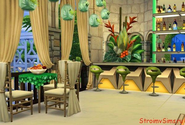 The Sims 4 cafés Simmerland