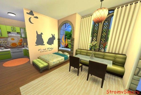 The Sims 4 как сделать квартиру