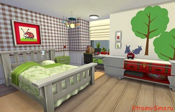 Как сделать красивую комнату в The Sims 4