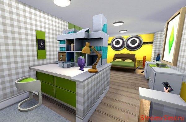 Детская подростка девочки в The Sims 4