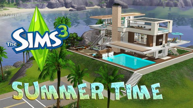 The Sims 3 дом Summer time