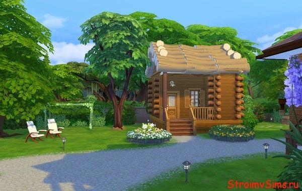 Как в Симс 4 построить маленький домик