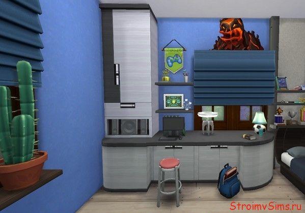 Мебель в детскую мальчика сима