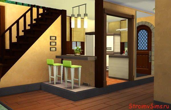 Симс 4 подиум на кухне