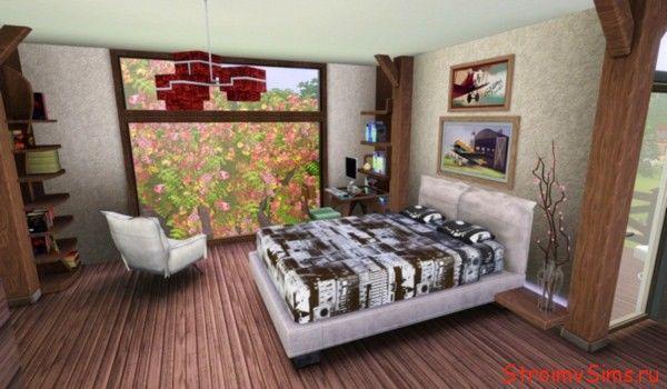 Спальня лофт в Симс 3