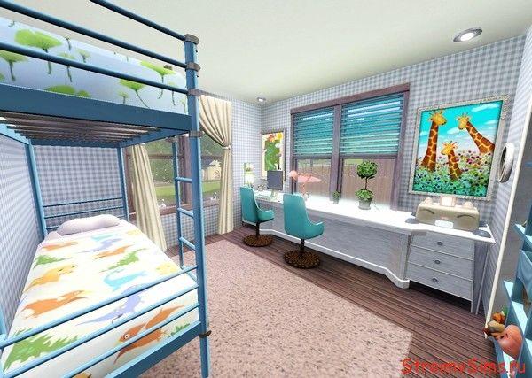 The Sims 3: комната для девочек