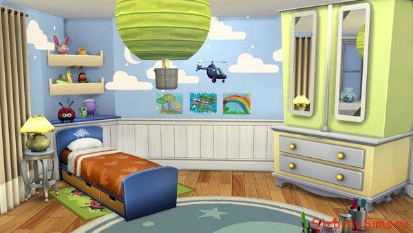 Симс 4: строим спальню Малыша