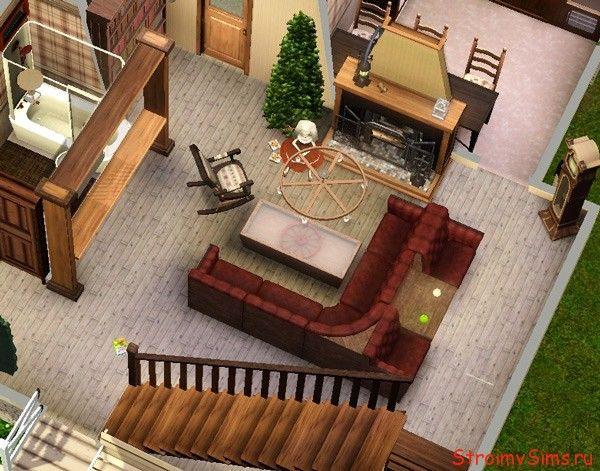 Как сделать угловой диван в Симс 3