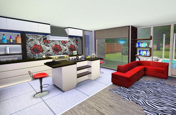 Как в Симс 3 перестроить кухню