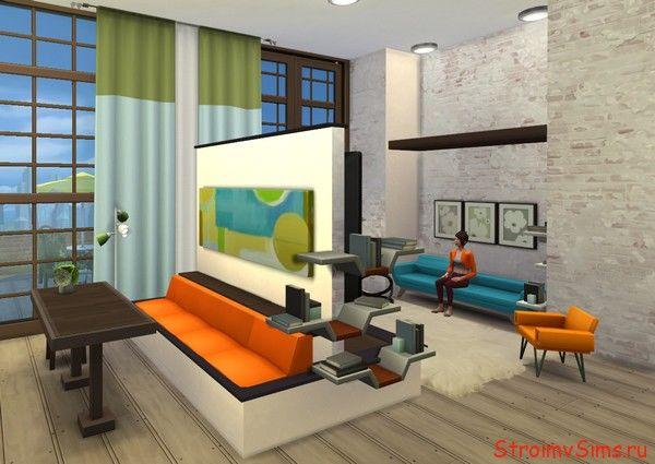 Как в симс 4 красиво построить квартиру