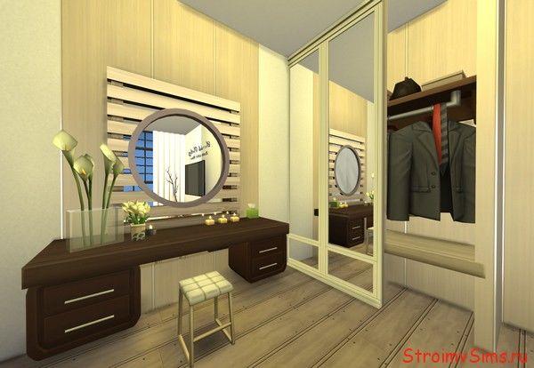 Как сделать гардеробную в Симс 4