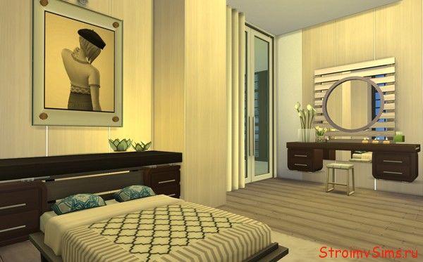 Как переделать спальню готовой квартиры в Симс 4