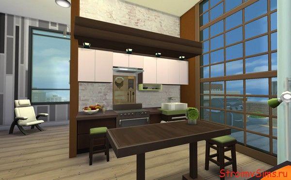 Красивая кухня в Симс 4