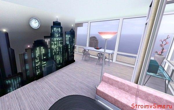 Как перестроить двухэтажную квартиру в Симс 3