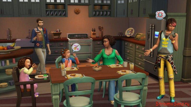 Что могут делать Родители в Симс 4