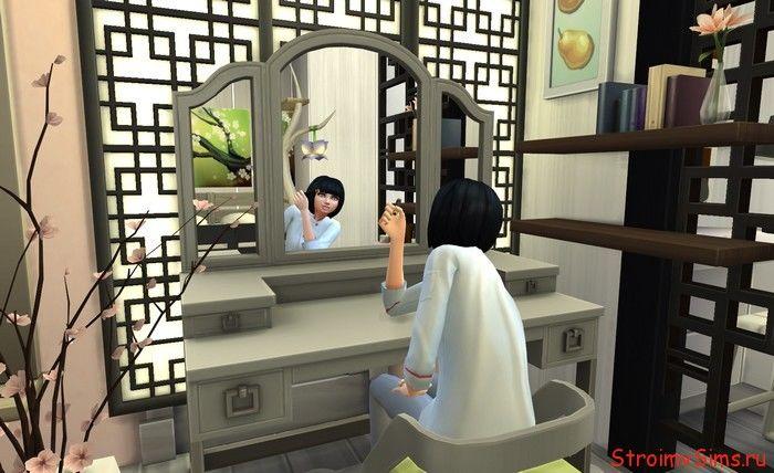 Уголок мамы Маринетт в The Sims 4