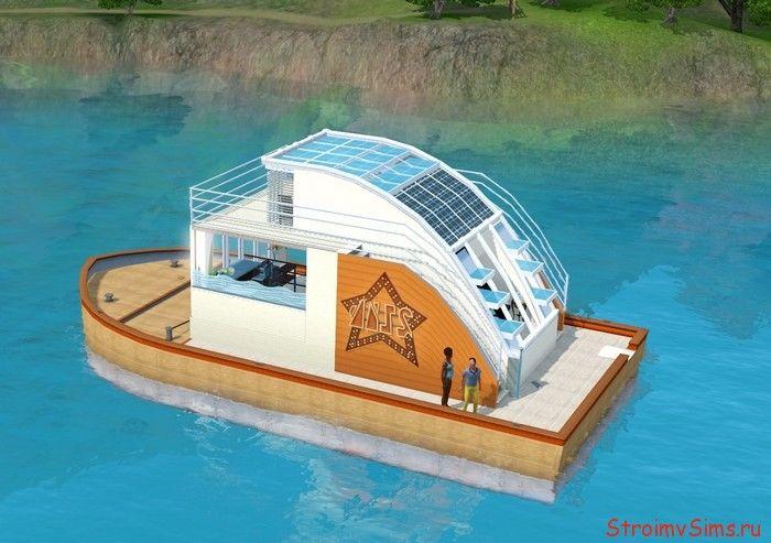Дом-кораблик в Симс 3