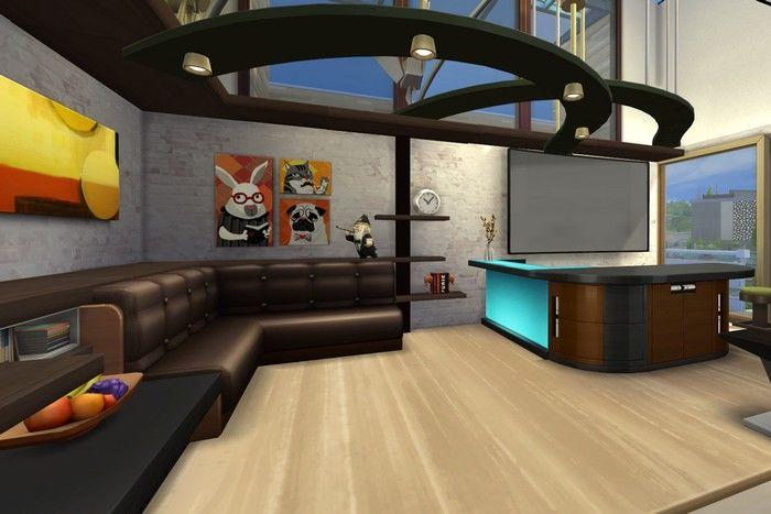 Делаем В Симс 4 красивый угловой диван