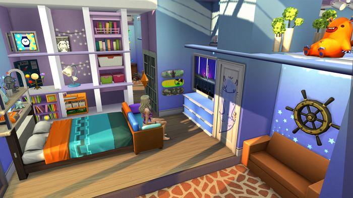 Строим в Симс 4 комнату по мультику «Эй, Арнольд!»
